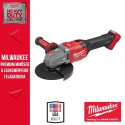 Milwaukee M18 FHSAG125XB-0 M18 FUEL™ Nagy teljesítményű 125 mm sarokcsiszoló fékező funkcióval és csúsztatható kapcsolóval