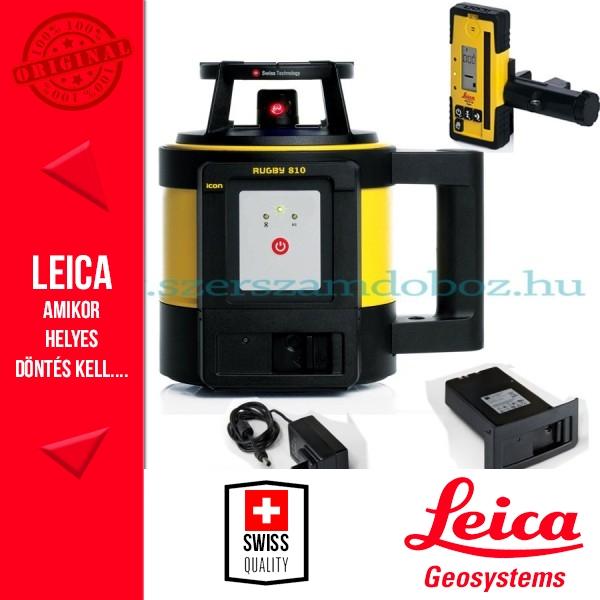 Leica Rugby 810 Forgólézer (akkus)