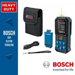 BOSCH GLM 50-27 CG zöld Lézeres akkumulátoros távolságmérő + BA 3.7V 1.0Ah A Akkumulátor