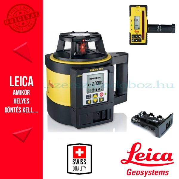 Leica Rugby 870 Forgólézer (elemes)