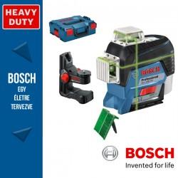 BOSCH GLL 3-80 CG zöld akkumulátoros Vonallézer (akku és töltő nélkül) L-Boxxban