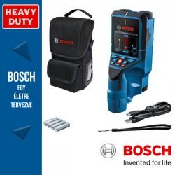 BOSCH D-tect 200 C Falszkenner + 4xAA elemek + elem adapter + USB-C Kábel + csuklópánt + zsák + kartondoboz