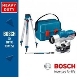 BOSCH GOL 26 D Optikai szintezőkészülék + BT 160 Állvány + GR 500 Mérőléc