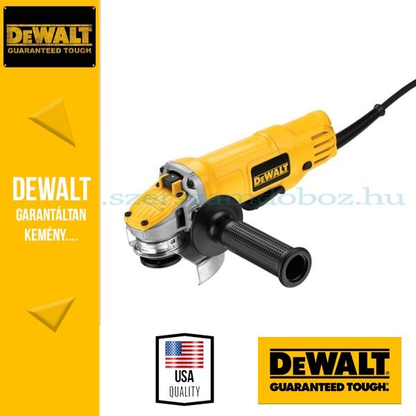 DeWalt DWE4120-QS Sarokcsiszoló