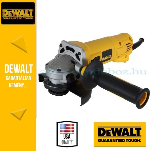DeWalt D28130-QS Sarokcsiszoló porkilökő rendszerrel