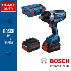 BOSCH GDS 18V-1050 H Akkus ütvecsavarozó (2x8,0Ah ProCORE) L-Boxx-ban