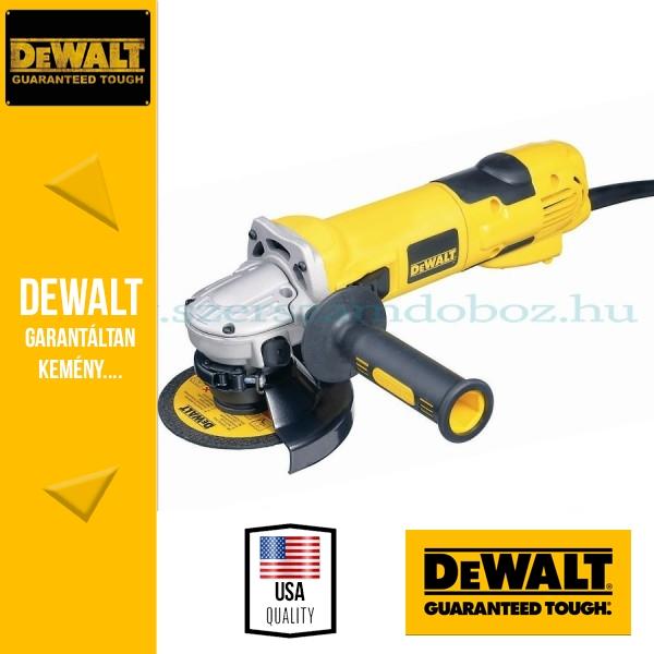DeWalt D28137-QS Sarokcsiszoló porkilökő rendszerrel