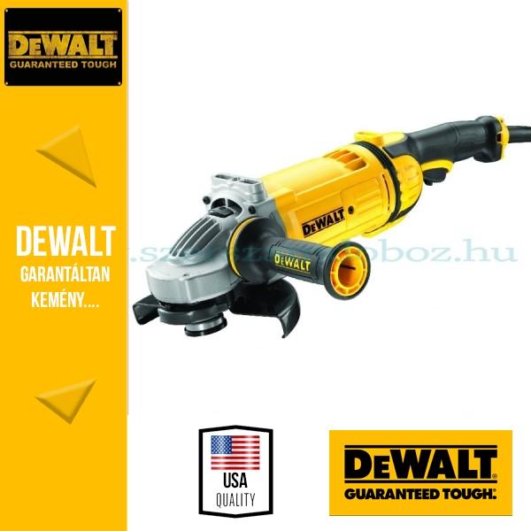 DeWalt DWE4557-QS Sarokcsiszoló porkilökő rendszerrel