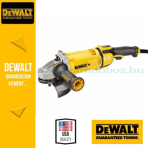 DeWalt DWE4559-QS Sarokcsiszoló porkilökő rendszerrel