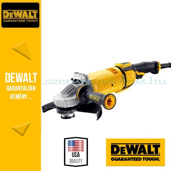 DeWalt DWE4579-QS Sarokcsiszoló porkilökő rendszerrel