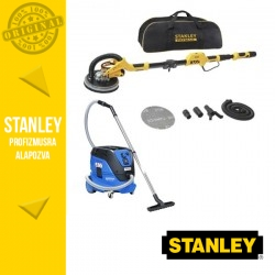 Stanley Falcsiszoló SFMEE500S + Nilfisk Attix 33-2L IC automata porszívó szett