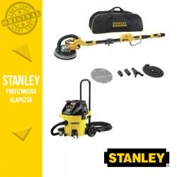 Stanley Falcsiszoló SFMEE500S + DeWalt DWV902M-QS M-osztályú porszívó szett