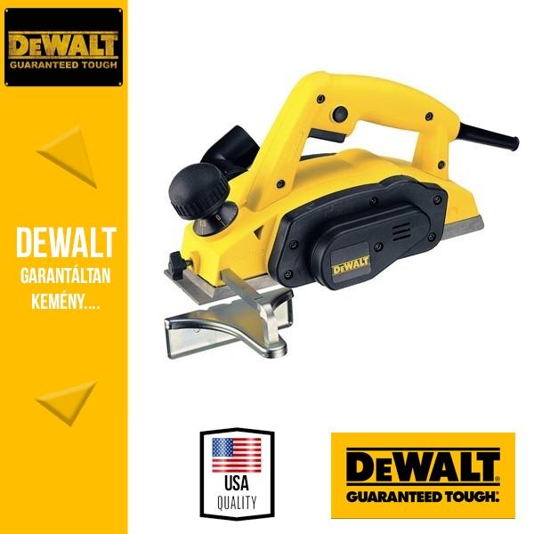 DeWalt DW677-QS 1,5mm-es gyalu