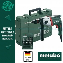 Metabo SBE 850 Ütvefúrógép + 9 részes fúrókészlet
