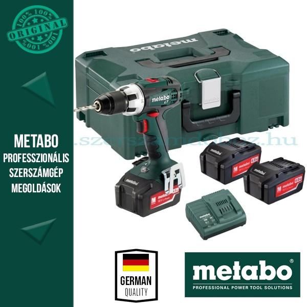 Metabo SB 18 LT Akkus ütvefúró-csavarbehajtó 3 akkuval