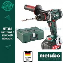 Metabo BS 18 LTX Impuls Akkus fúró-csavarozó 3 akkuval