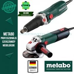 Metabo WEA 15-125 Quick Sarokcsiszoló + GE 710 Plus Egyenescsiszoló