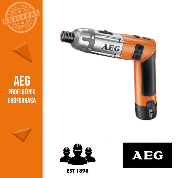 AEG SE 3,6 Li Akkus rúdcsavarozó