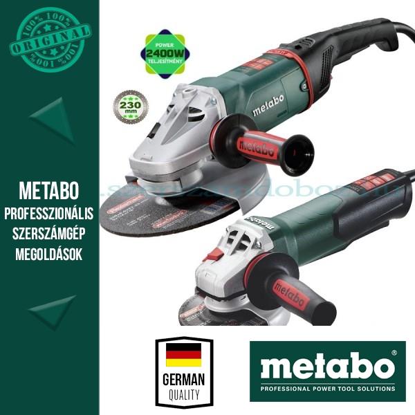 Metabo WEA 15-125 Quick Sarokcsiszoló + WEA 24-230 MVT Quick Sarokcsiszoló