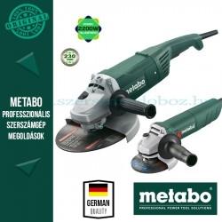 Metabo WX2200-230 Sarokcsiszoló + W 750-125 Sarokcsiszoló