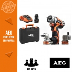 AEG BBS 12C2 Li 202C KIT1 12V akkus fúrócsavarozó készlet