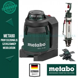 Metabo MLL 3-20 360°-os többvonalas lézer szett