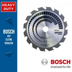 Bosch Körfűrészlap Construct Wood építkezési faanyagokhoz szeg vagy betonmaradvánnyokkal  235mm 16fog