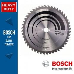 Bosch Körfűrészlap, Optiline Wood minden fafajtához 315mm 48fog