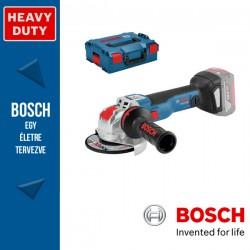 BOSCH GWX 18V-10 C Akkus sarokcsiszoló X-LOCK (akku és töltő nélkül)  L-Boxx-ban
