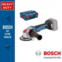 BOSCH GWX 18V-10 SC Akkus sarokcsiszoló X-LOCK (akku és töltő nélkül) L-Boxx-ban