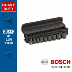 Bosch 9 db-os dugókulcs készlet