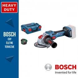 BOSCH GWX 18V-15 SC Akkus sarokcsiszoló X-LOCK (akku és töltő nélkül) L-Boxx-ban