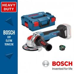 BOSCH GWX 18V-10 PSC Akkus sarokcsiszoló X-LOCK (akku és töltő nélkül) L-Boxx-ban