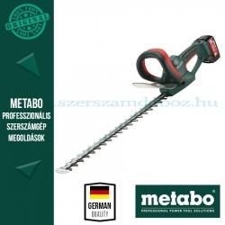 Metabo AHS 18-55 V Akkus sövényvágó