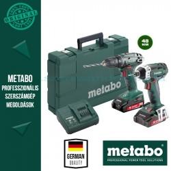 Metabo SSD 18 LTX 200 Ütve-csavarbehajtó + BS 18 Fúró-csavarbehajtó