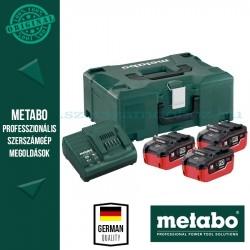 Metabo 18V LiHD Akkucsomag 5,5Ah + MetaLoc