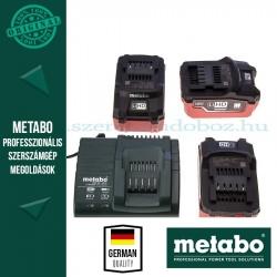 Metabo 18V LiHD Akkucsomag 5,5Ah