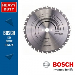 Bosch Körfűrészlap, Speedline Wood fához hosszanti- és harántvágásához 350mm 32fog