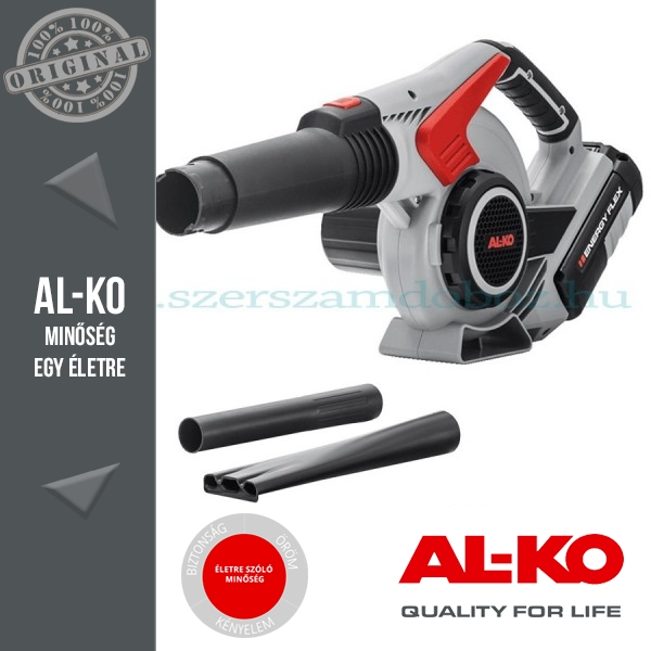 AL-KO LB 36 Li Energy Flex Akkumulátoros lombfúvó Alapgép