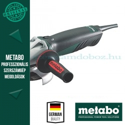 Metabo W 8-125 Sarokcsiszoló