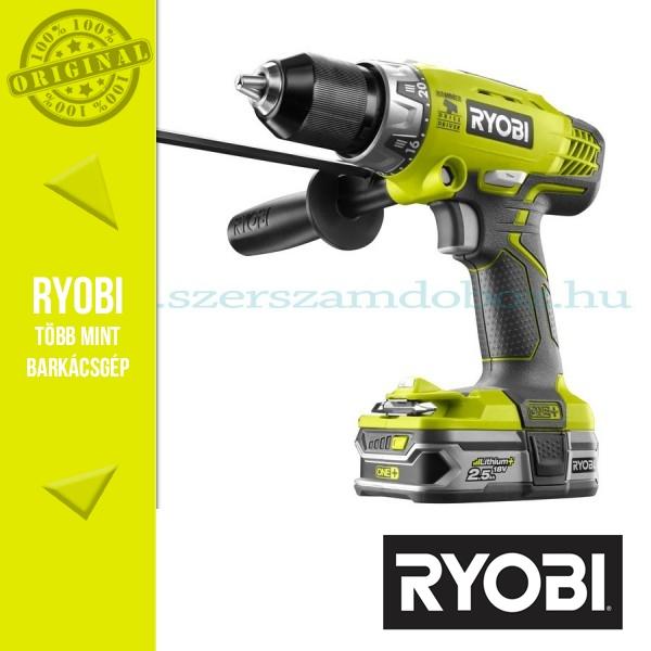 Ryobi R18PD-L25S Akkumulátoros ütvefúró-csavarbehajtó