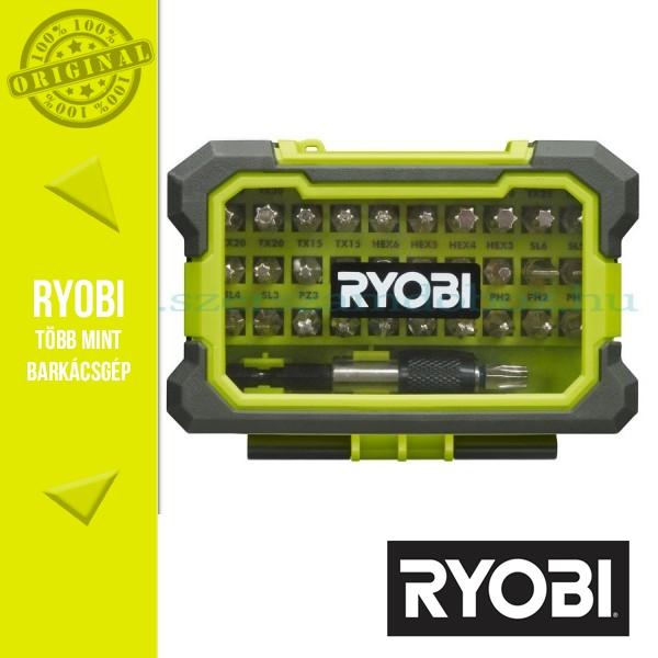 Ryobi RAK32MSD 32 db-os bitkészlet dobozban