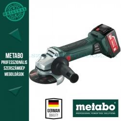 Metabo W18 LTX 125 Akkus sarokcsiszoló
