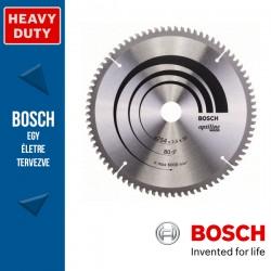 Bosch Körfűrészlap, Optiline Wood minden fafajtához 254mm 80fog