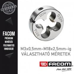 FACOM Menetmetszők, M3x0,5mm - M18x2,5mm