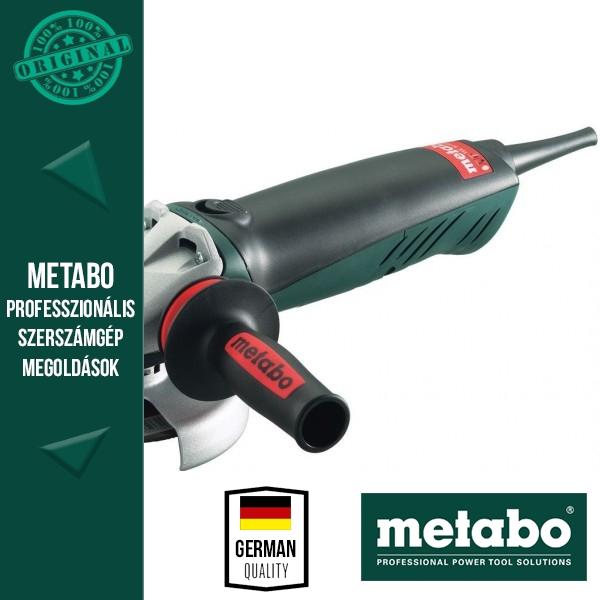 Metabo WE 14-125 Inox Plus Sarokcsiszoló