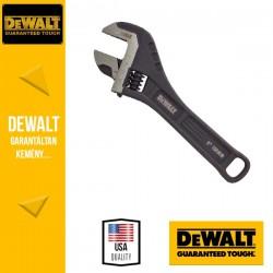 """DEWALT 8"""" teljesen acélból készült állítható csavarkulcs"""