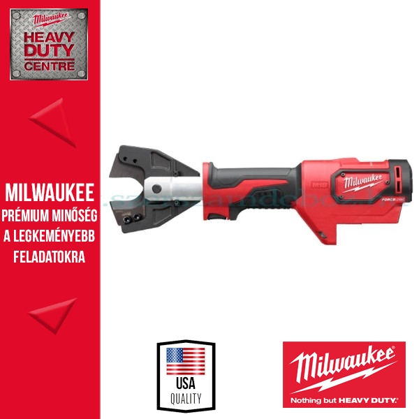 Milwaukee M18 HCC-0 CU/AL-SET FORCELOGIC™ Hidraulikus kábelvágó