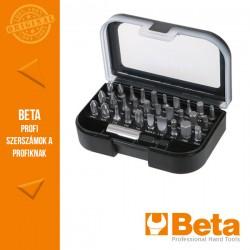Beta 860EA/31 30 darabos csavarhúzóbetét készlet mágneses betéttartóval, zsebben hordható tokban
