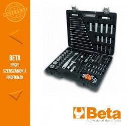 Beta 2046E/C116 116 darabos szerszámkészlet műanyag táskában, általános karbantartáshoz